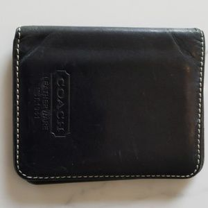100% genuine coach leather wallet